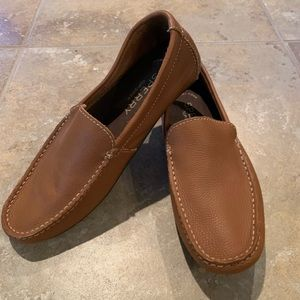 Sperry Men's Tan Wave Driver loafer shoe size 8